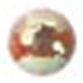 ネイルズマジック カリーノストーン オーロラクリーム 丸2mm /50P
