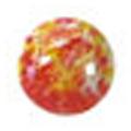 ネイルズマジック カリーノストーン マーブルオレンジ 丸3mm /40P