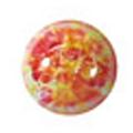 ネイルズマジック カリーノストーン マーブルオレンジ 丸4mm /30P