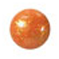 ネイルズマジック カリーノストーン グリッターオレンジ 丸2mm /50P