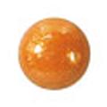 ネイルズマジック カリーノストーン グリッターオレンジ 丸3mm /40P