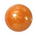 ネイルズマジック カリーノストーン グリッターオレンジ 丸4mm /30P