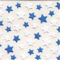 bibi deco ネイルシール 星 ブルー×ホワイト