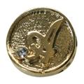 Mpetit オリジナルパーツ A186 イニシャルコイン A /1P