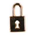 Mpetit オリジナルパーツ A055 パッドロック ゴールド 1P