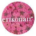 erikonail ジュエリーコレクション ERI-134 ドライフラワー ピンク 20枚
