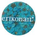 erikonail ジュエリーコレクション ERI-137 ドライフラワー ブルー 20枚