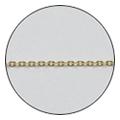 Jewelry-Nail CH-0003 ツイストチェーン SS ゴールド