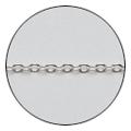 Jewelry-Nail CH-0004 ツイストチェーン S シルバー