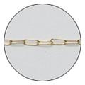 Jewelry-Nail CH-0005 クリップチェーン SS ゴールド