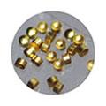 リトルプリティー Jewelry-Nail LP-7007 スタッズマル 0.6mm ゴールド 50P