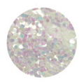 SHAREYDVA ホログラム オーロラホワイト 丸1mm 2g