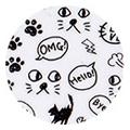 Amaily ネイルシール NO.3-13 黒猫