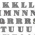 TSUMEKIRA アルファベット ブラック NN-ALP-502