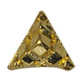 SHAREYDVA トライアングル ピラミッド ゴールド 10P