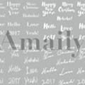 Amaily ネイルシール NO.9-2 WH2017 白