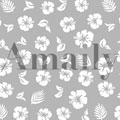 Amaily ネイルシール NO.1-10 ハイビスカス 白