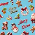 BN クリスマスネイルシール MCC-02 メリークリスマス