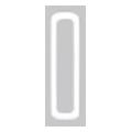 Bonnail ×RieNofuji ループスクエア M ホワイト 6P