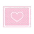 シリコン ネイルマット ピンク×ホワイト ミニサイズ