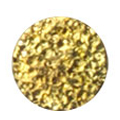 Pieadra ネイルパーツ シャインプレート サークルS ゴールド 3mm/ 20P