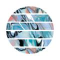 TSUMEKIRA tatiプロデュース2 NN-TAT-201 Marble tape1 ブルー 5mm