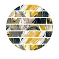 TSUMEKIRA tatiプロデュース2 NN-TAT-204 Marble tape1 イエロー 5mm