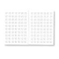 Bonnail バンピーカラーチャート タイル 140色