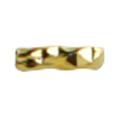 ネイルアクセサリー ツイストスティック ゴールド 3mm/50P