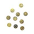 MysticFlakes メタルパーツ スマイリー 10P