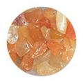 SHAREYDVA ネイルアクセサリー 天然石 タンジェリンクォーツ 2.5g