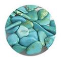 SHAREYDVA ネイルアクセサリー 天然石 ターコイズ 2.5g