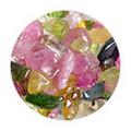 SHAREYDVA ネイルアクセサリー 天然石 マルチカラーA 2.5g