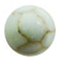 Bonnail ×RieNofuji marumarble オペークターコイズ 4mm/12P