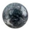Bonnail ×RieNofuji marumarble マットブラック 4mm/12P