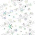 TSUMEKIRA ネイルシール SnowCrystal レインボー SG-YUK-103(ジェル専用)