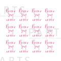 写ネイル PARTS SHA-NAIL フォントシー (チェリーピンク)