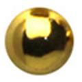 SHAREYDVA メタルボール ゴールド 2mm /25P