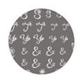 TSUMEKIRA アルファベット たけいみき ホワイト NN-ALP-301