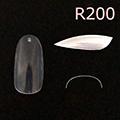 Bonnail クリアラウンドフルチップ C07R200 #05 /50P