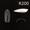 Bonnail クリアラウンドフルチップ C07R200 #08 /50P