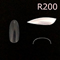 Bonnail クリアラウンドフルチップ C07R200 #09 /50P
