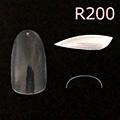 Bonnail クリアラウンドフルチップ C07R200 #02 /50P