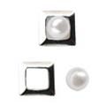 リトルプリティー Jewelry-Nail LP-AST-0001 3Dスタッズスクエア2スカシ アソート シルバー