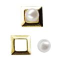 リトルプリティー Jewelry-Nail LP-AST-0001 3Dスタッズスクエア2スカシ アソート ゴールド