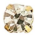 Bonnail 爪付ストーン クリスタル 4mm 10P