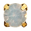 Bonnail 爪付ストーン ホワイトオパール 3mm 10P