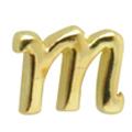Putiel ネイルパーツ クラシックイニシャル M 3P