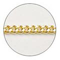 Jewelry-Nail CH-0001 プレーンチェーンSS ゴールド