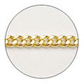 Jewelry-Nail CH-0002 プレーンチェーンS ゴールド